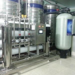 Hệ thống dây chuyền lọc nước đóng chai