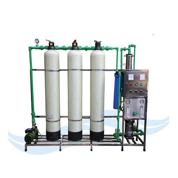 Dây chuyền lọc nước tinh khiết RO 125 lít/h