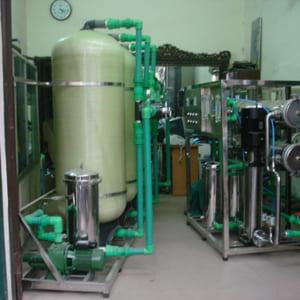 Dây chuyền lọc nước tinh khiết RO 1000 lít/h