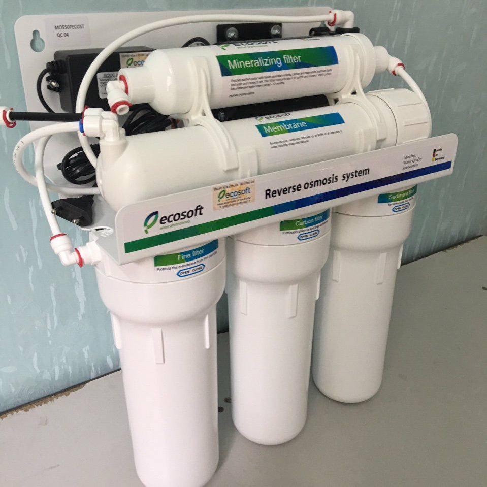 Máy lọc nước nhập khẩu Đức Ecosoft