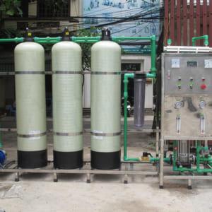 Dây chuyền lọc nước tinh khiết RO 250 lít/h