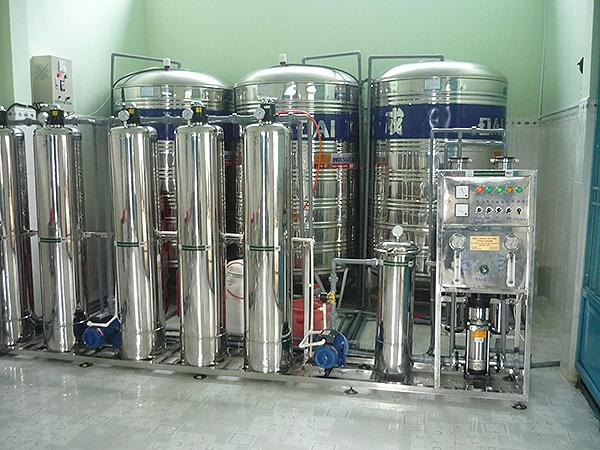 Hệ thống xử lý nước chạy thận nhân tạo