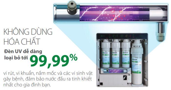 Máy lọc nước tích hợp đèn UV AR600-U3