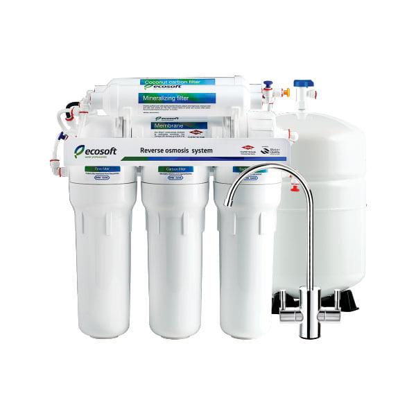 Máy lọc nước Ro Ecosoft vòi tay gạt đa năng