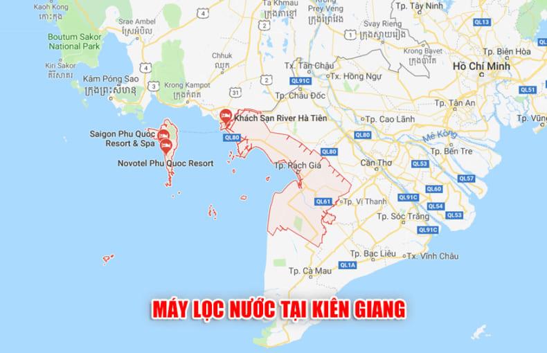 Máy lọc nước tại Kiên Giang