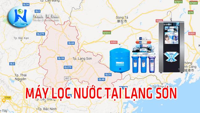 Máy lọc nước tại Lạng Sơn