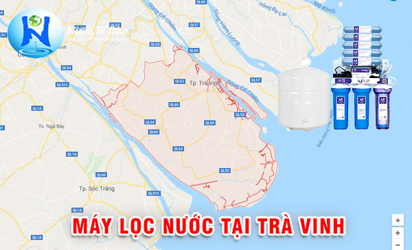 Máy lọc nước tại Trà Vinh - Máy lọc nước dlink dk5 new Trà Vinh
