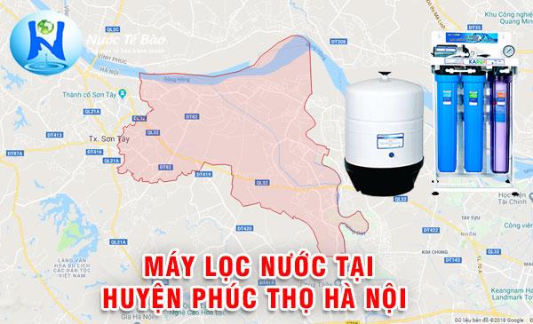 Máy lọc nước tại Huyện Phúc Thọ Hà Nội - Máy lọc nước loại nào tốt Huyện Phúc Thọ Hà Nội