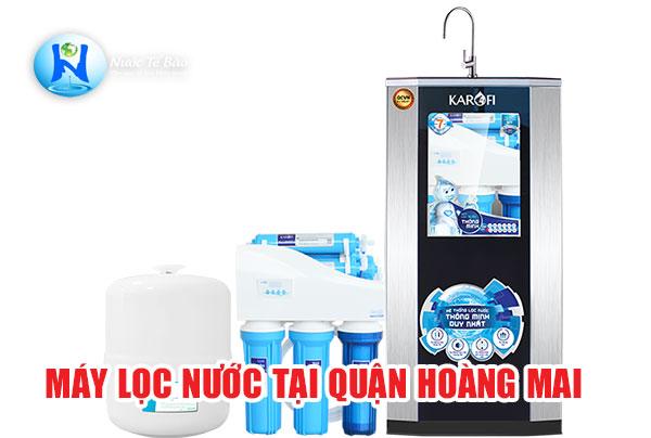 Máy lọc nước tại Quận Hoàng Mai Hà Nội - Máy lọc nước âm tủ Quận Hoàng Mai Hà Nội
