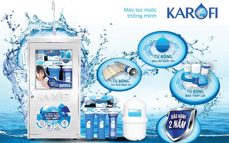 Máy lọc nước Karofi được sản xuất từ nước nào?