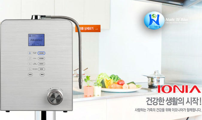 So sánh máy lọc nước ion kiềm Hàn Quốc và Nhật Bản