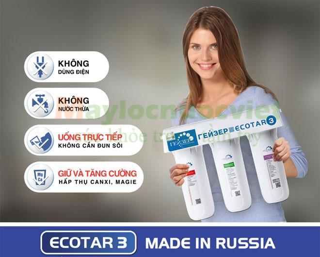 [Đánh Giá] Khả năng lọc của máy lọc nước Geyser Ecotar 3