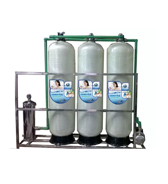 Hệ thống lọc nước RO công suất 2000l/h Van Tay (1 pha)