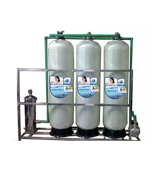 Hệ thống lọc nước RO công suất 2000l/h Van Tay (3 pha)