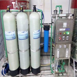 Hệ thống lọc nước RO công suất 500l/h Van Tay