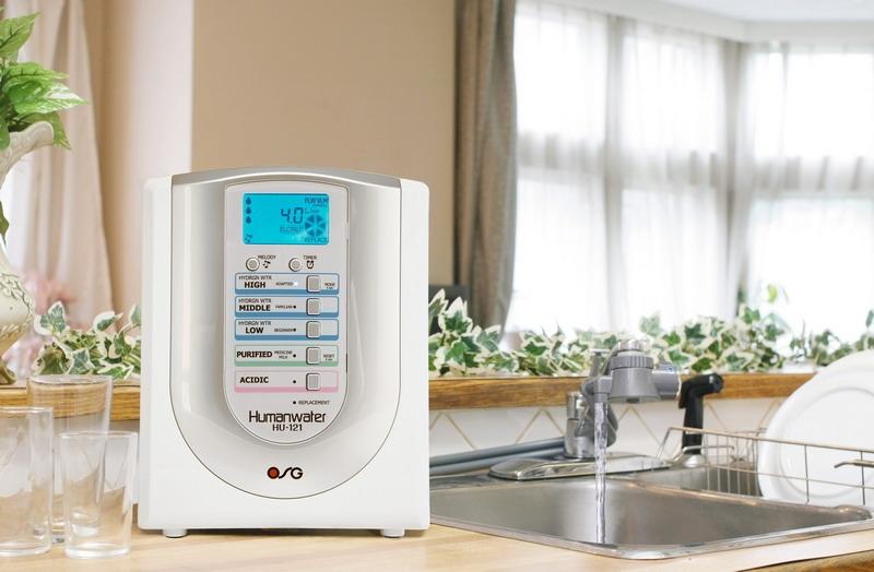 Máy điện giải ion kiềm OSG Human Water HU-121