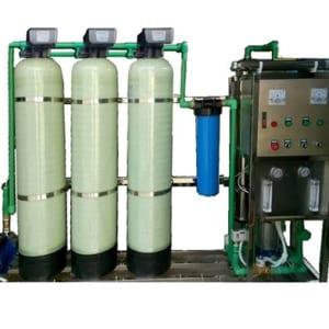 Hệ thống lọc nước R.O công suất 250l/h - Cột 844 van tự động