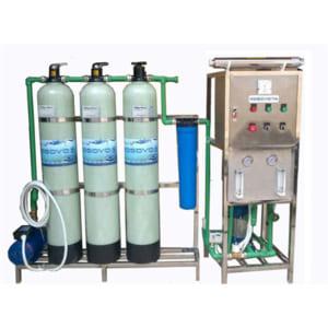 Hệ thống lọc nước R.O KOSOVOTA CS 250l/h - Cột 844 van tay