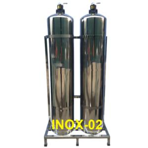 Thiết bị lọc nước tổng toàn nhà INOX-02